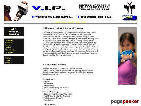 vip-personaltraining.ch - V.I.P. Personal Training
