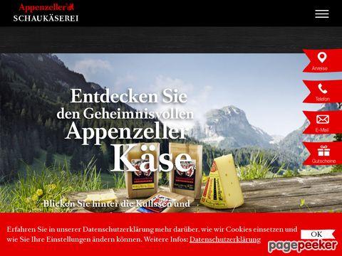 showcheese.ch - Schaukäserei in Stein (Appenzell)