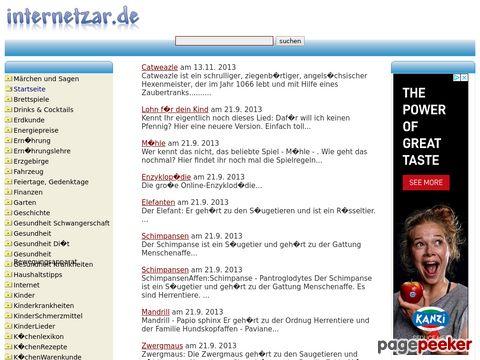 internetzar.de das Wissensportal