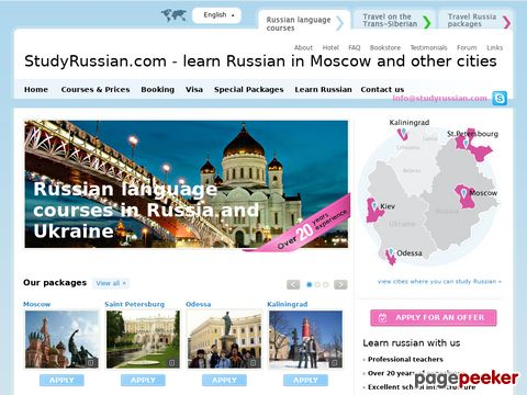 Russian Language Course in Moscow
