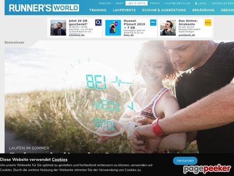 runnersworld.de - RUNNERS WORLD, das grösste Laufmagazin der Welt