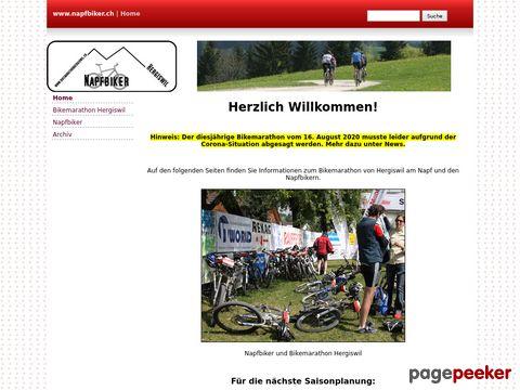 www.napfbiker.ch - Napf Biker Hergiswil Bike-Marathon