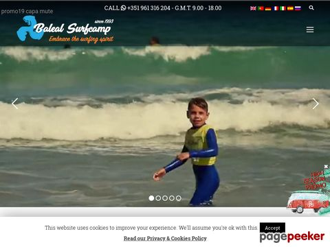 balealsurfcamp.com - Surf camp in Peniche Portugal
