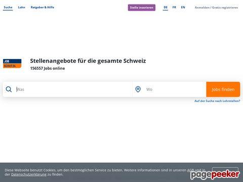 Die Schweizer Job-Suchmaschine