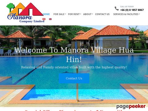 Hua Hin Property Projects - Manora Village Hua Hin Thailand