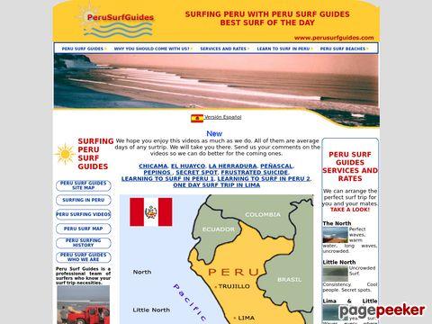 Peru Surf Guide