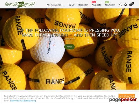 tools4golf Golf Online Shop - exklusive, innovative Golfprodukte