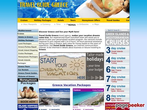 Travel guide for Greece