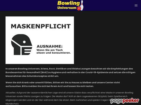 Bowling Universum Dietlikon Zürich