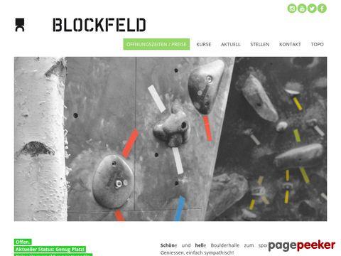 BLOCKFELD | Boulderhalle Winterthur / ZH
