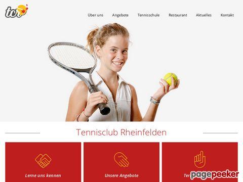 Tennisclub Rheinfelden - mieten Sie Ihre Tennispl�tze online
