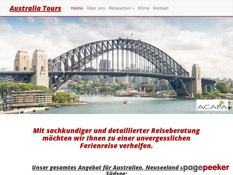 australia-tours.ch - Australia-Tours