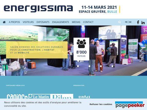 Energissima - Messe rund um erneuerbare Energien (Fribourg, Schweiz)