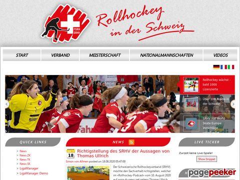 SRHV Schweizerischer Rollockeyverband - FSRH Fédération Suisse de rink-hockey