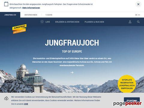 Jungfraujoch - Jungfraubahn (CH-3800 Interlaken / BE)