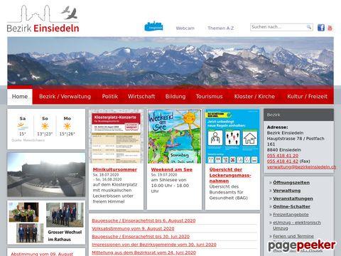 Region Einsiedeln (Schweiz)