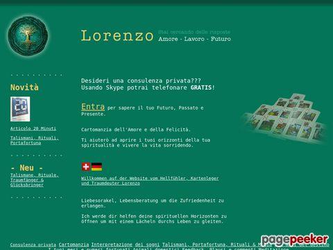 LORENZO – Hellseher, Kartenleger, Hellfühler, Traumdeutung, Lugano, Tessin, Schweiz