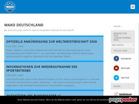 WAKO Deutschland e.V. - Homepage