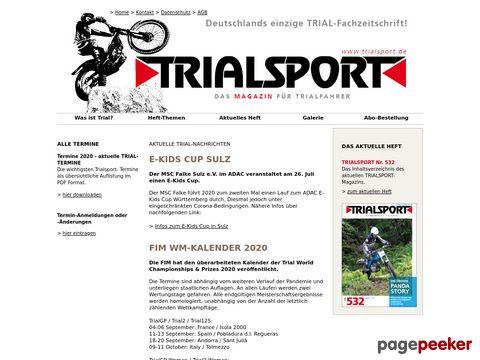 trialsport.de - TRIALSPORT - Das Magazin für Trialfahrer