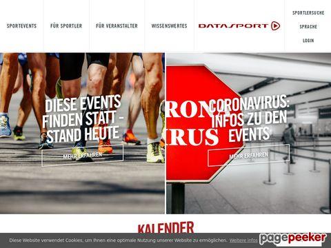 datasport.com - International führendes Dienstleistungsunternehmen für Sportveranstaltungen