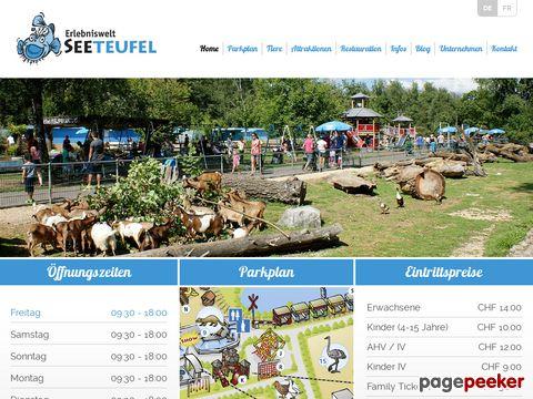 Tier- & Erlebnispark Seeteufel (Studen, BE)