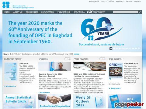 OPEC - Organisation Erdöl exportierender Länder - Organization of the Petroleum Exporting Countries