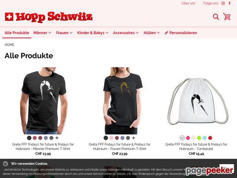 hopp-schwiiz.ch - Die Homepage für alle Fans der Schweizer Fussball-Nationalmannschaft