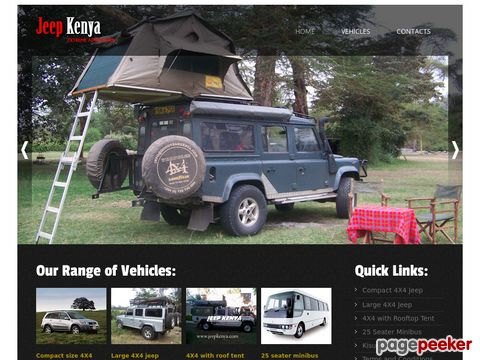 jeepkenya.com - 4x4 with roof top tent