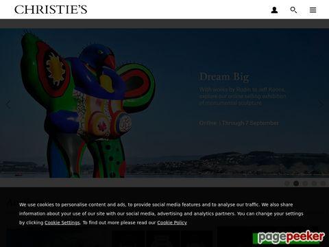 Christies - Das edle Auktionshaus mit den besonderen Artikeln