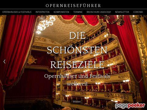opernreisefuehrer.de - Ihr Opernreiseführer - Opernreisen