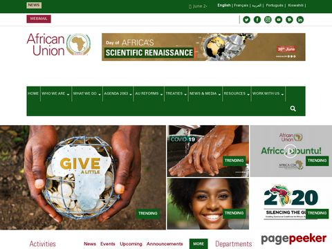 Afrikanische Union -  African Union (AU)