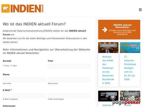 indienaktuell.de - Indien Aktuell Forum - Verschiedene Themen - Indien Forum