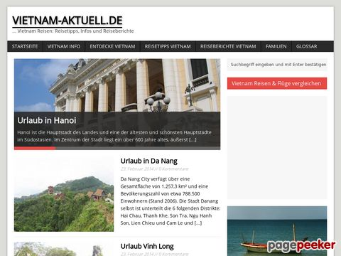 Vietnam Aktuell: Das Informationsportal für Vietnam Reisen