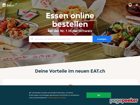 eat.ch - Lieferservice & Pizzakurier - Pizza bestellen online