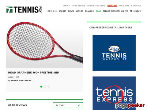 TENNIS.com - Tennis Equipment Reviews - Racquet Reviews - Shoe Reviews