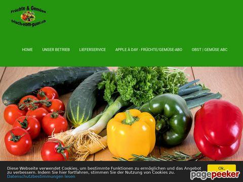 frisch-vom-puur.ch - Gemüse und Früchte Onlineshop