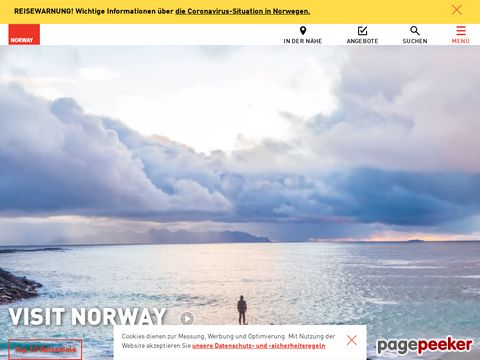 visitnorway.com - Urlaub in Norwegen - Offizielle Reiseinfos für Norwegen