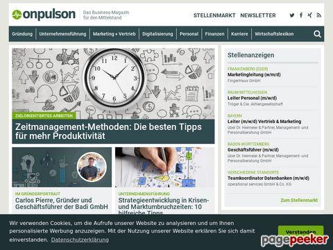 onpulson.de - Wissen kostenlos online lernbar