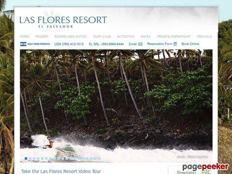 Las Flores Resort, El Oriente Salvaje, El Salvador