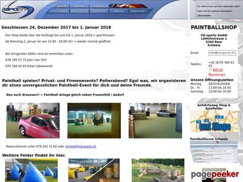 CD-sportz Paintball (Ganze Schweiz)