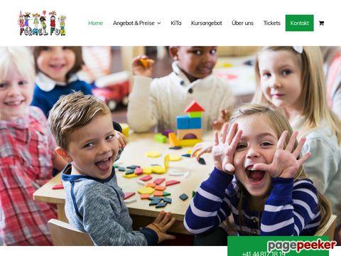 Formel Fun - die Kinderspielhalle mit Lounge und Stil in Bülach / ZH