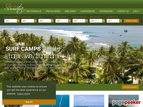 Surf camp Sumatra, Krui & Mentawais Indonesia
