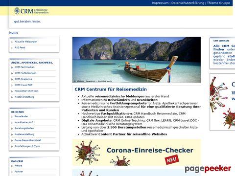 CRM.de - Centrum für Reisemedizin