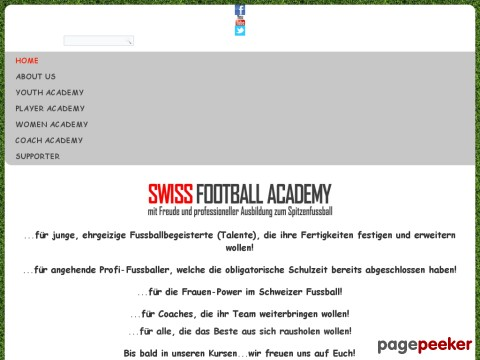 Football Academy Zurich - Football Academy Zurich