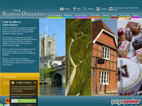 South Oxfordshire Tourism | Accommodation | Henley | Thames | Wallingford