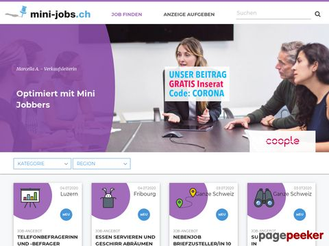 Mini-jobs.ch - Nebenjobs, Studentenjobs, Aushilfsjobs