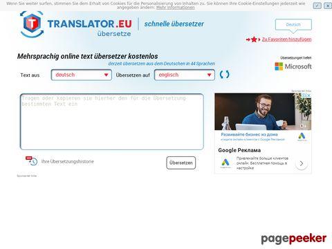 translator.eu - übersetzer kostenlos