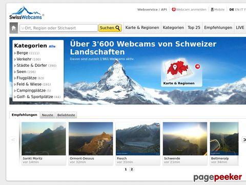 swisswebcams.ch - Schweizer Wetterkameras