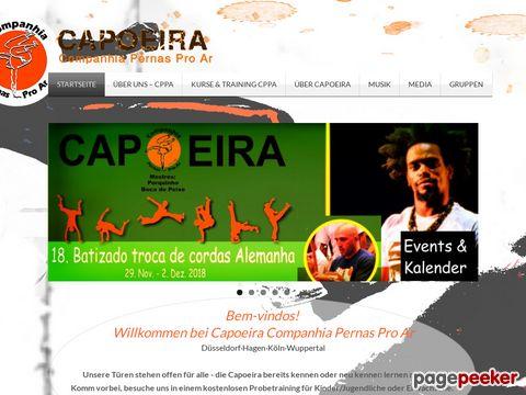 Capoeira - Companhia Pernas Pro Ar