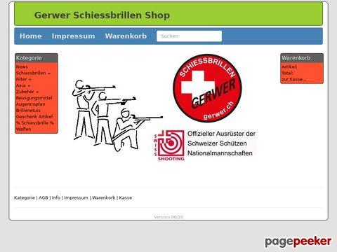 Schiessbrillen Shop